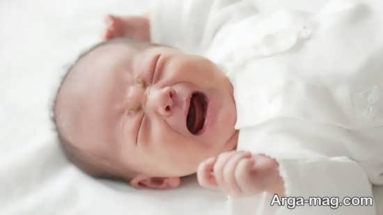 علت گریه کودک و راه های تسکین آن