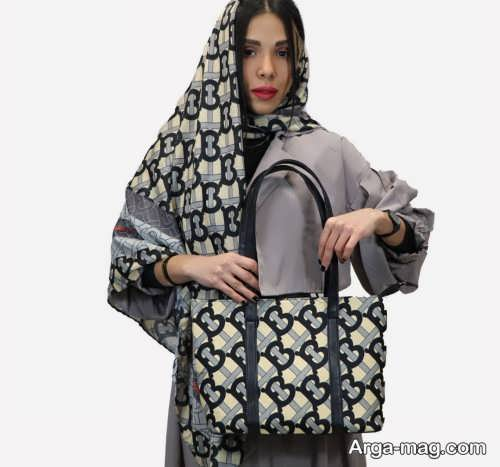 کیف و شال زیبا