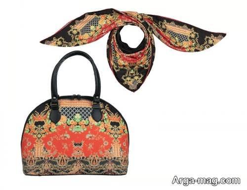 کیف و روسری زیبا