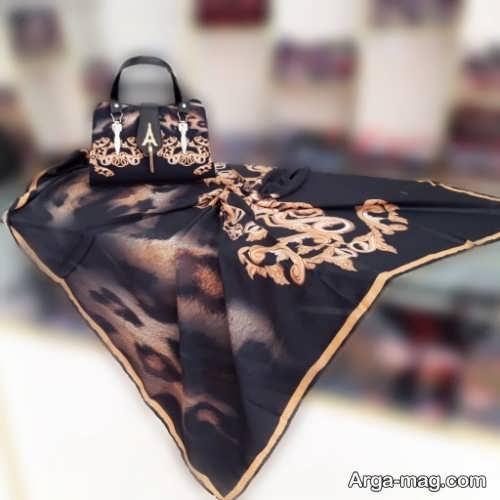 روسری و کیف زنانه
