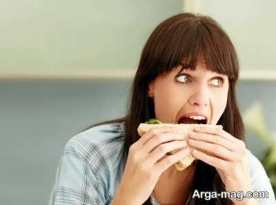 خصوصیات و فواید جویدن غذا
