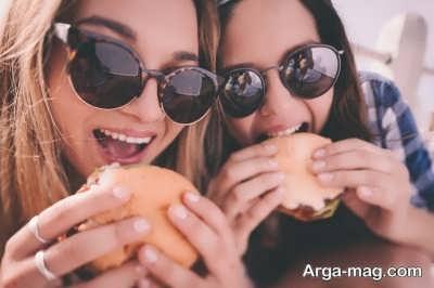 تاثیر جویدن غذا بر معده