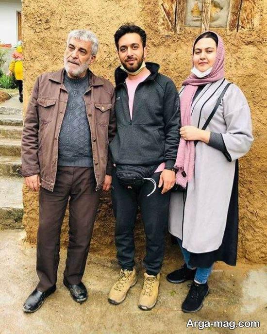 زندگینامه حسین سحرخیز و همسرش