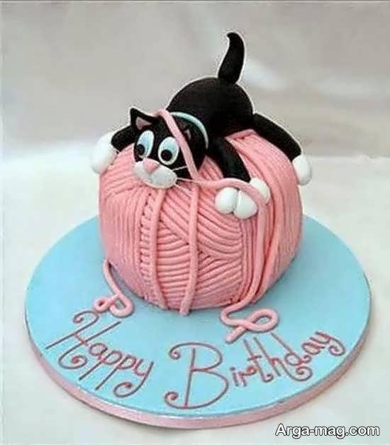 ایده های جالب و جدید از کیک تولد بریا سال نو میلادی