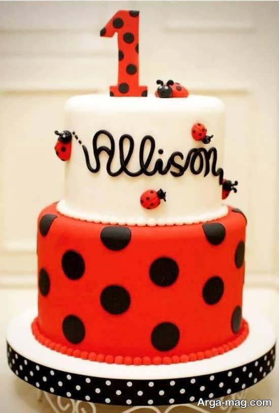 نمونه هایی دوست داشتنی از کیک تولد سال جدید میلادی