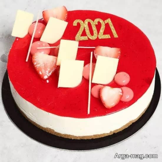 کیک تولد سال نو میلادی