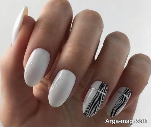 دیزاین ناخن زنانه