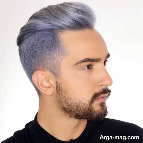 رنگ مو پسرانه زیبا و جذاب