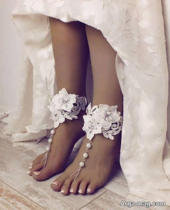 مشاهده آلبوم زیبایی از مدل پابند عروس