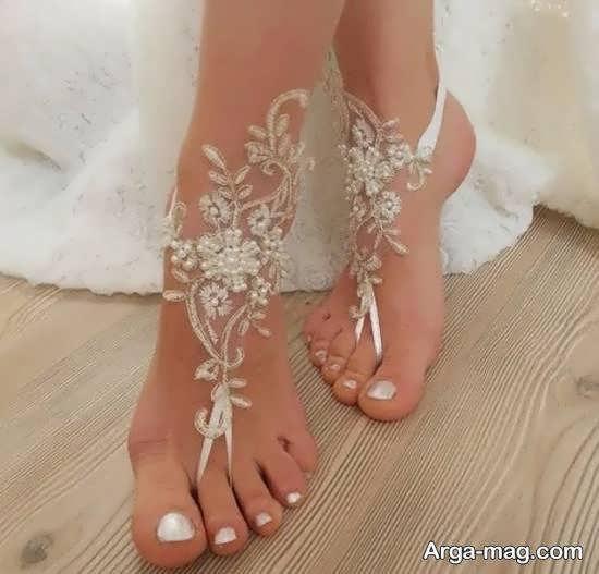 آَنایی با مدل پابند عروس زیبا