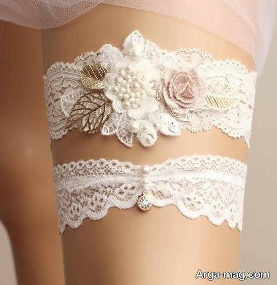انواع گالری زیبایی از مدل پابند عروس
