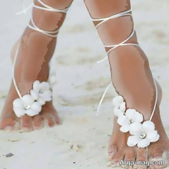 انواع مدل های زیبا و جذاب پابند عروس