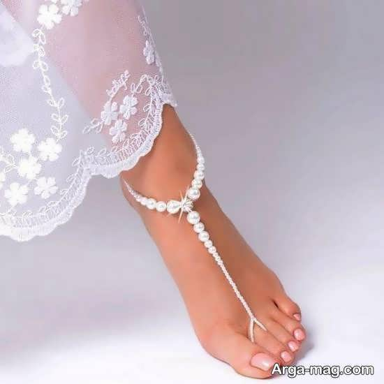 انواع مدل پابند عروس زیبا و جذاب