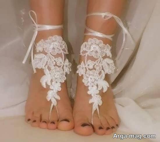 نمونه های متفاوتی از پابند عروس