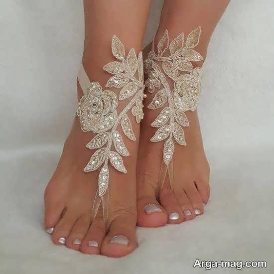 گالری زیبایی از مدل پابند عروس