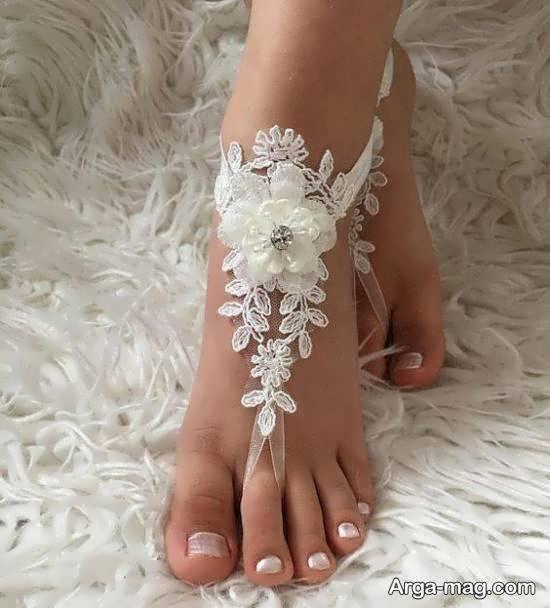 گالری لوکس و زیبایی از الگوهای پابند عروس