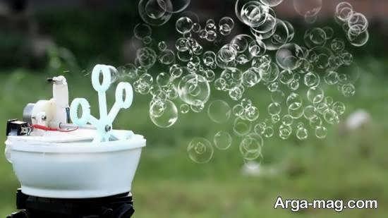 انواع ایده های زیبا و جذاب ساخت حباب ساز