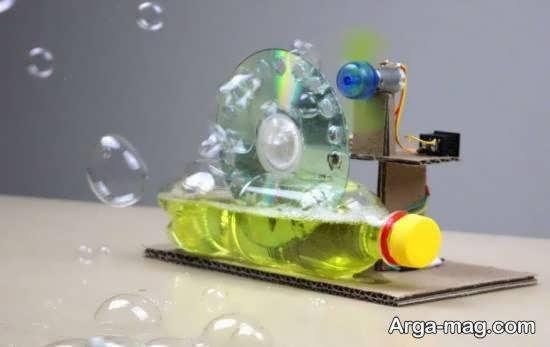 آموزش جذاب و دوست داشتنی برای ساخت حباب ساز