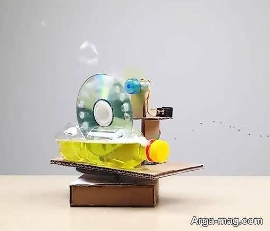 آموزش شیوه ی ساخت حباب ساز
