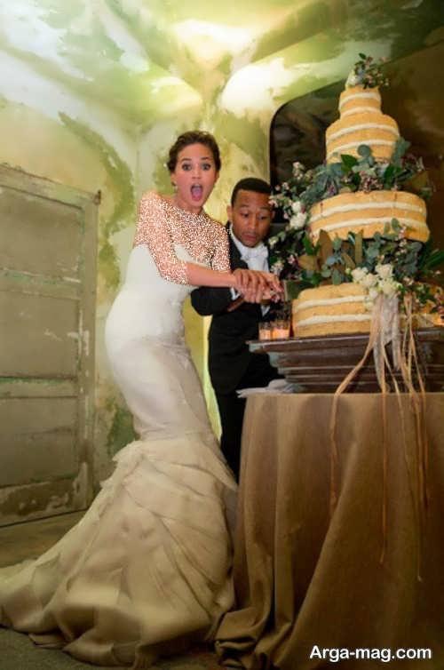 مدل های زیبا لباس عروس افراد مشهور