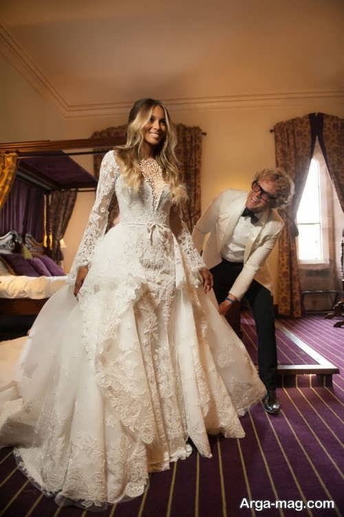 لباس عروس سیرا