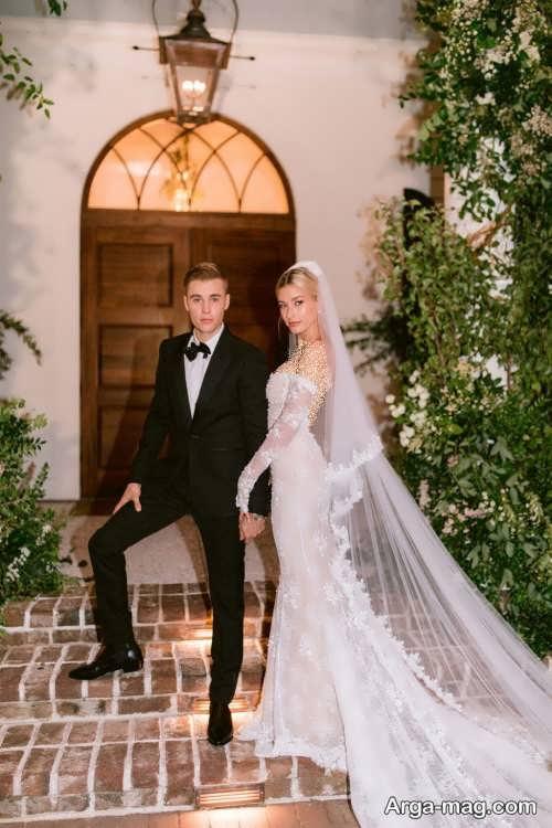 لباس عروس برای افراد مشهور