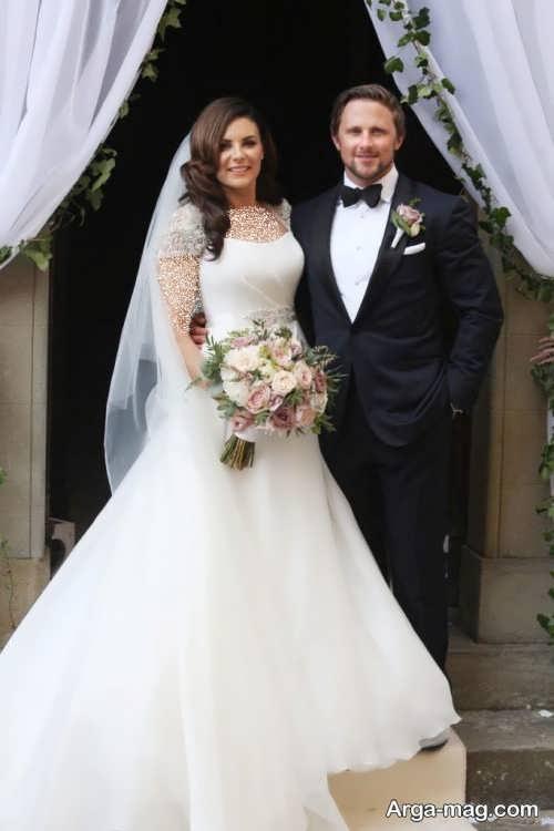 طرح لباس عروس برای افراد مشهور