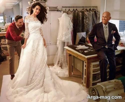 مدل لباس عروس برای افراد مشهور
