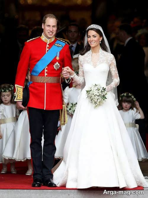 لباس عروس همسر شاهزاده ویلیام