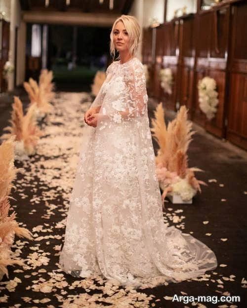 مدل لباس عروس شیک مخصوص افراد مشهور
