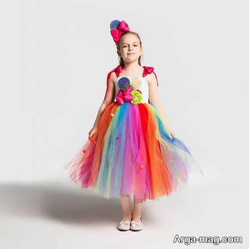 مدل لباس رنگی 2021