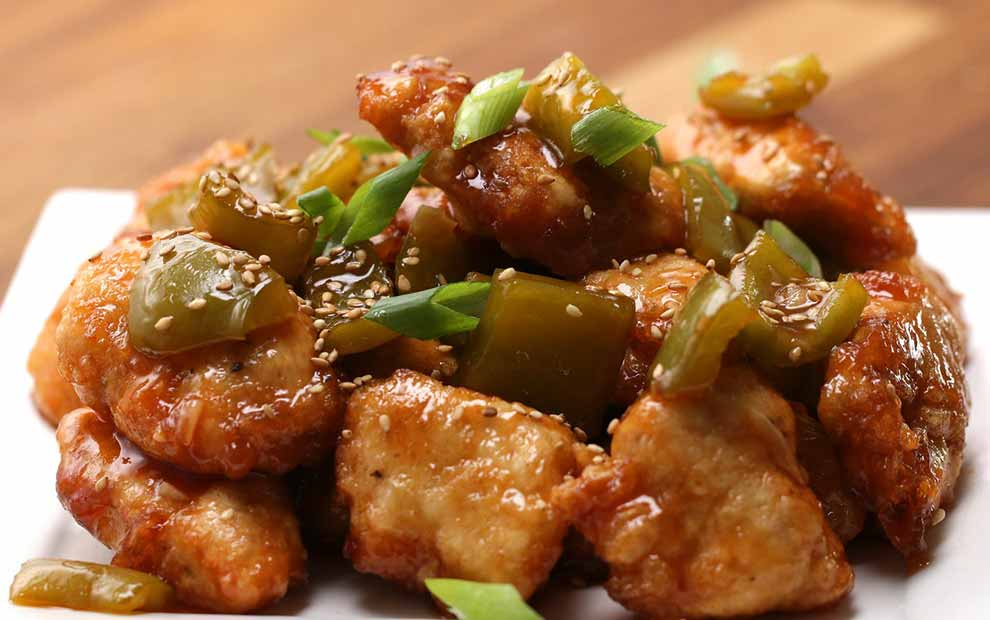 طرز تهیه غذای چینی
