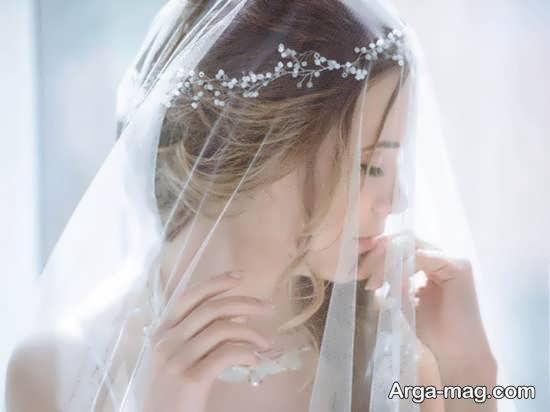 آشنایی با انواع تور عروس زیبا و جذاب و موارد موثر در تهیه آن