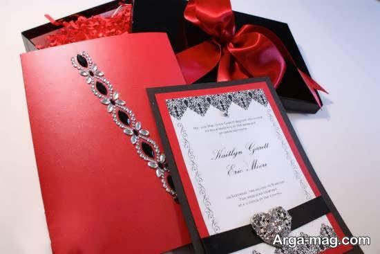 ایده هایی بینظیر و خواستنی از دعوتنامه عروسی زرشکی