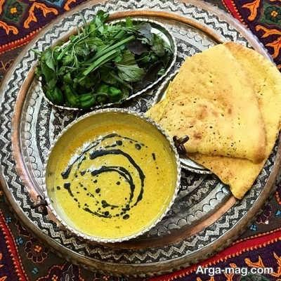منوی غذایی کرمانی