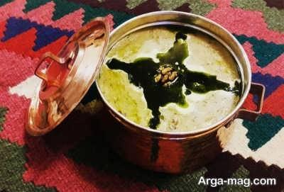 طرز تهیه آش اوماج