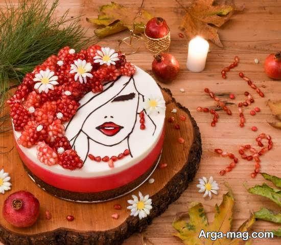 الگوهایی زیبا و خاص برای طراحی و دیزاین چیز کیک