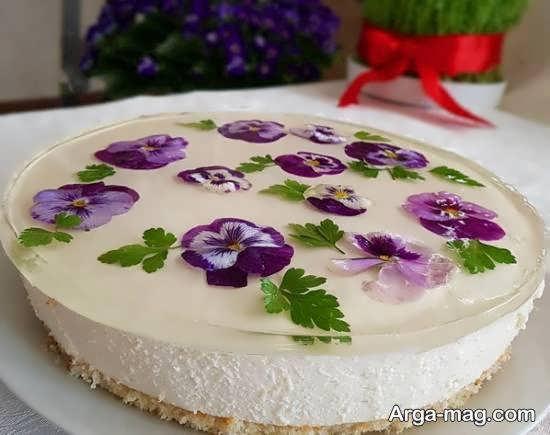 ایده هایی زیبای تزیین چیز کیک