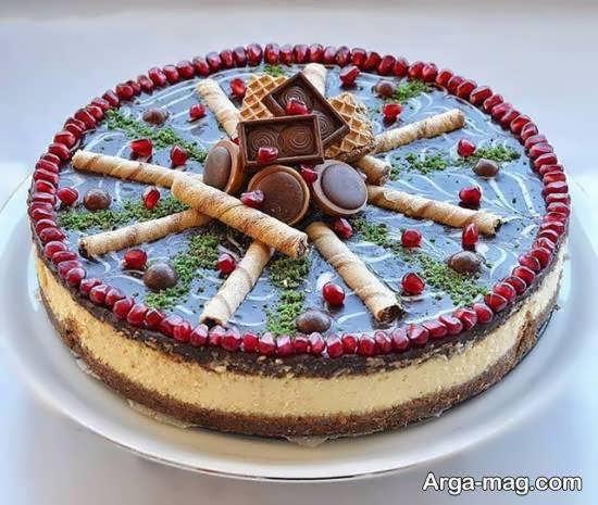 ایده هایی ناب و نفیس از دیزاین چیز کیک