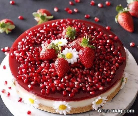 الگوهایی ایده آل و ناب برای تزیینات چیز کیک