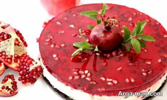 نمونه هایی ایده آل و متفاوت برای تزیینات چیز کیک