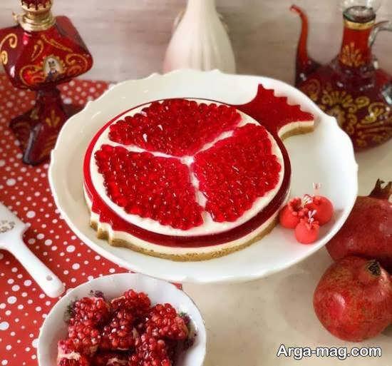 ایده هایی زیبا و شیک برای تزیین چیز کیک
