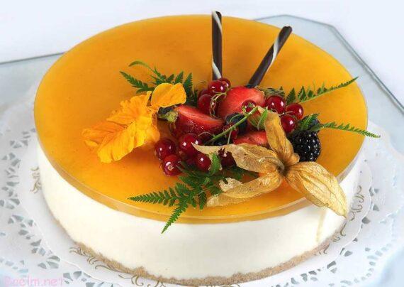 نمونه هایی ایده ال و زیبا برای تزیین چیز کیک