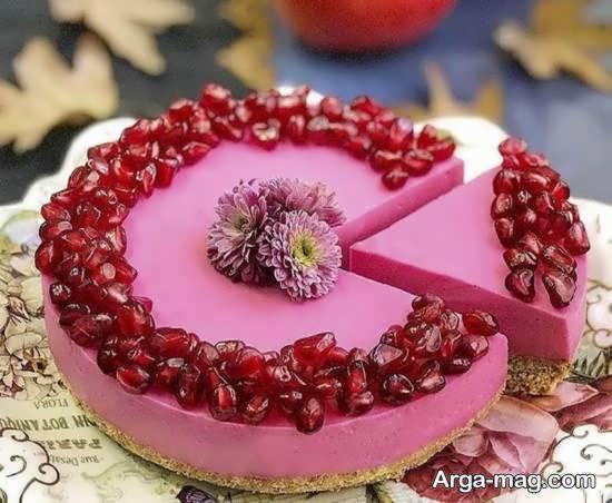 ایده هایی زیبا و شیک از تزیین چیز کیک
