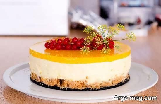 زیباسازی و طراحی چیز کیک