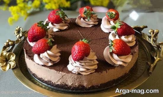 نمونه هایی ناب و نفیس از تزیینات چیز کیک