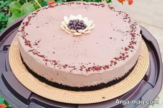 انواع ایده های زیبا و جالب تزیینات چیز کیک