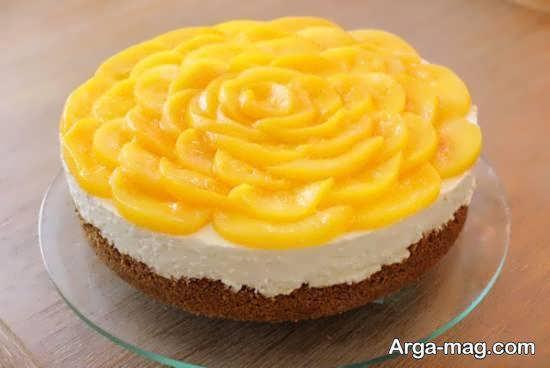تزیینات زیبا و شیک برای ناوع چیز کیک