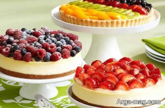 الگوهایی ایده آل و دوست داشتنی از تزیینات چیز کیک