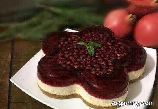 انواع نمونه های ایده آل و خاص تزیین چیز کیک